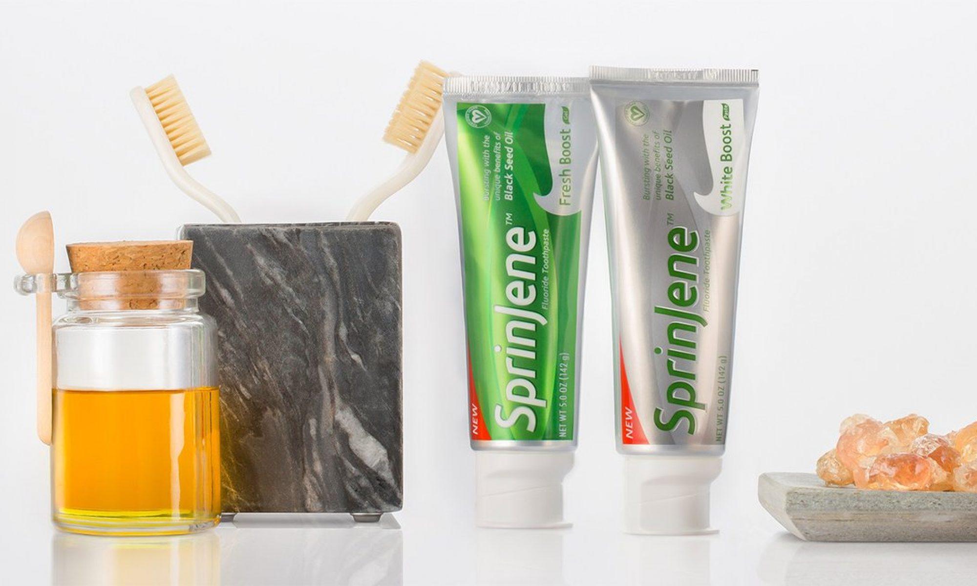 سبرينجين | أفضل معجون أسنان تم تطويره بعناية و دقة متناهية